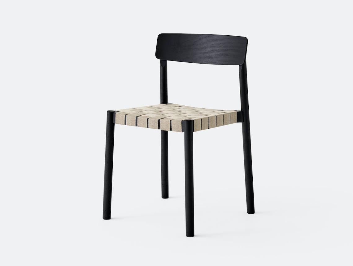 And Tradition Betty Chair Black Thau Kallio