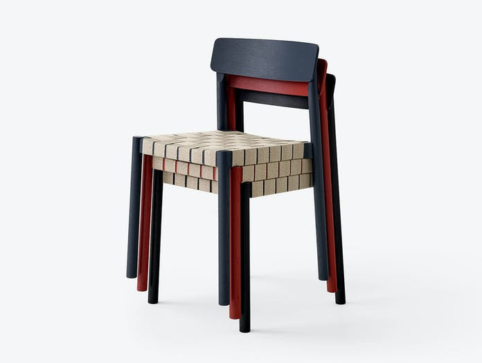 And Tradition Betty Chair Stack Thau Kallio