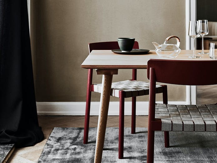 And Tradition Betty Chairs Red Thau Kallio