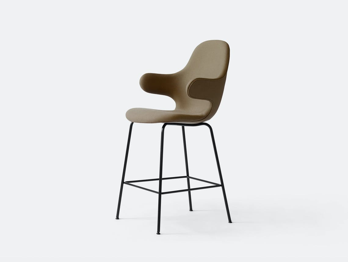 And Tradition Catch Barstool Jh16 Light Brown Steelcut Jaime Hayon