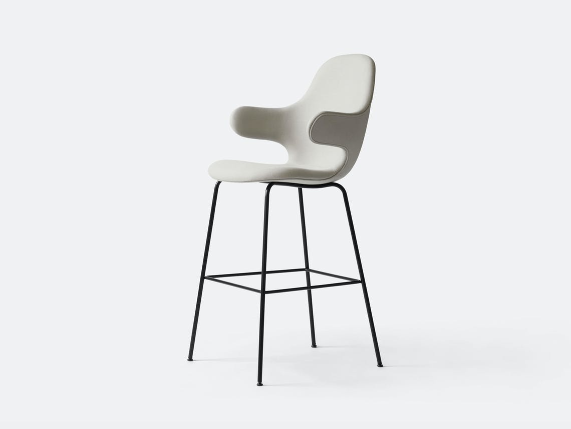 And Tradition Catch Barstool Jh17 Pale Grey Steelcut Jaime Hayon