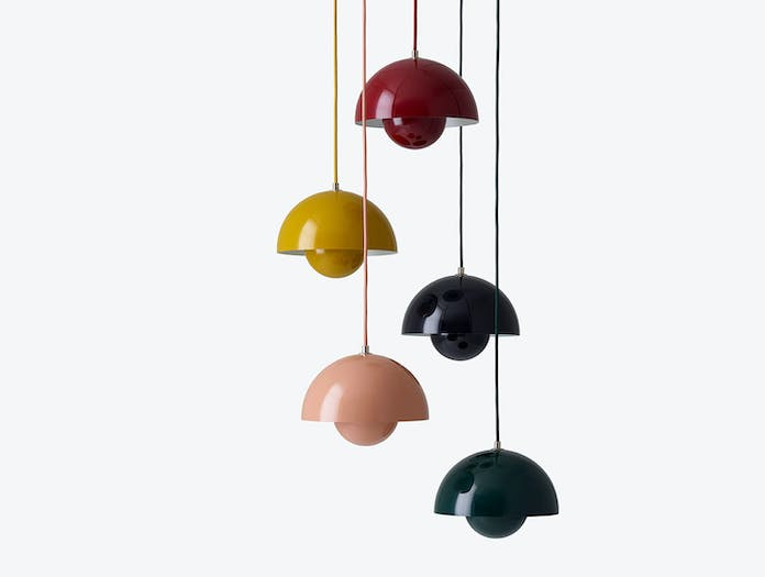 And Tradition Flowerpot Pendant Lights Verner Panton