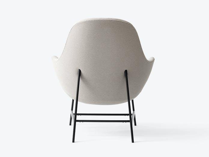 And Tradition Jh13 Catch Lounge Chair Back Jaime Hayon