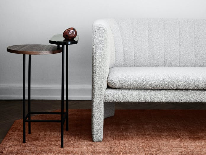 And Tradition Loafer Two Seater Sofa Detail Space Copenhagen