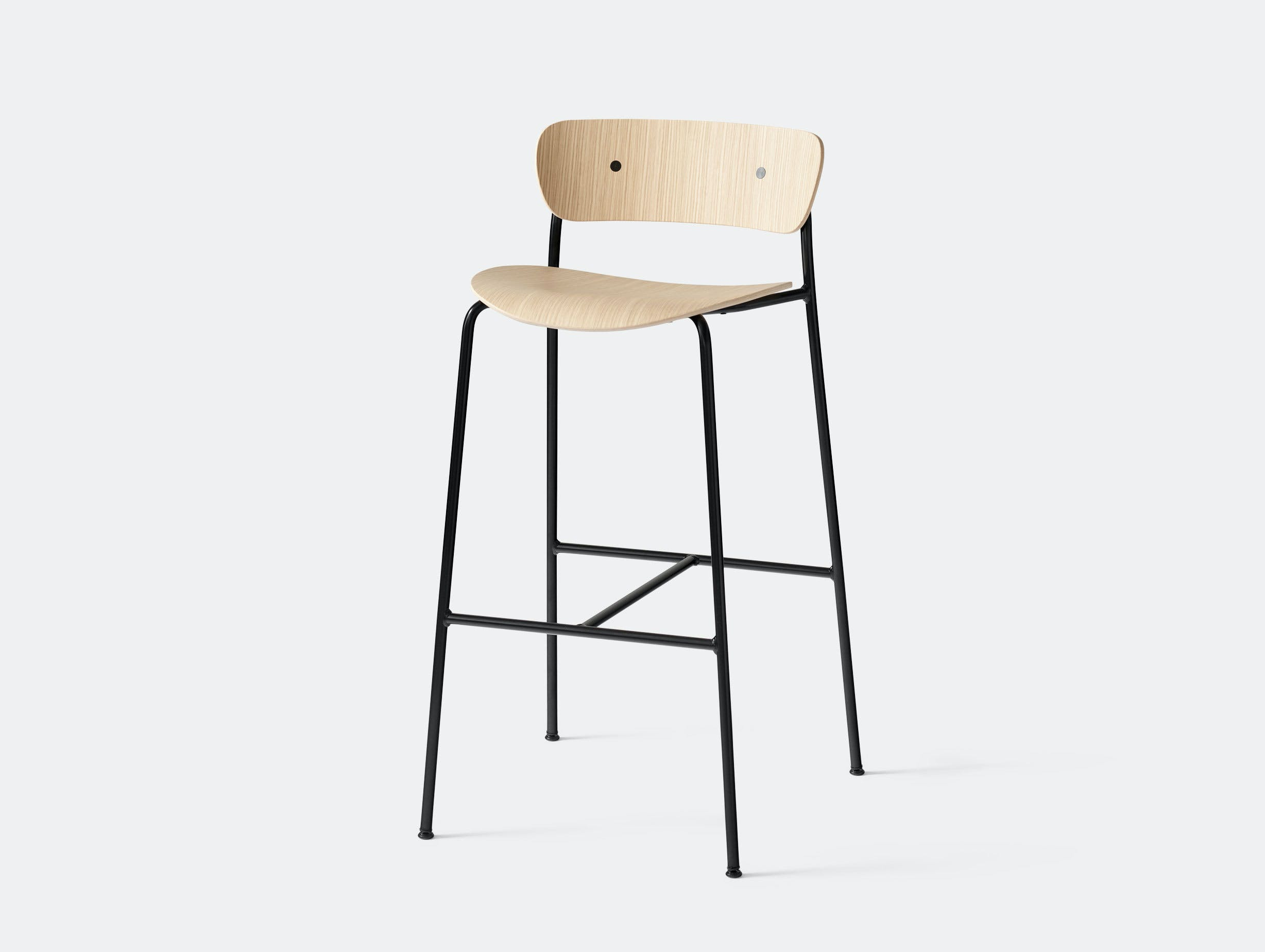 And Tradition Pavilion Bar Stool Oak Anderssen Voll