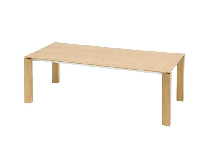 Andreu World Extra Table Oak Top