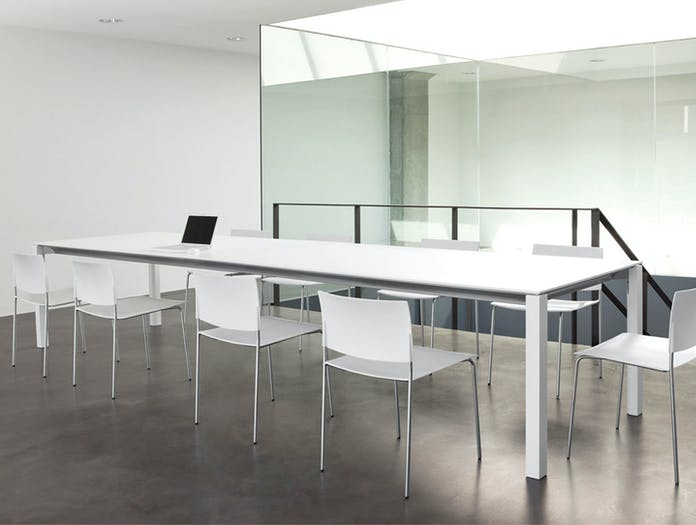 Andreu World Extra Table White Conference