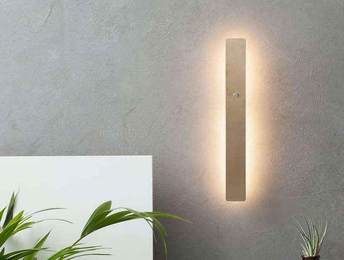 Anour Divar Model Wall Light Brass