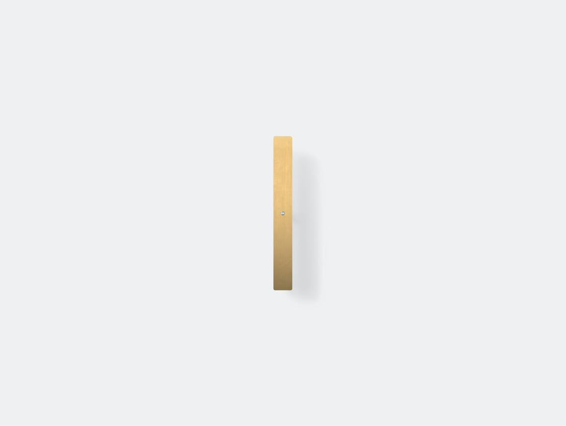 Anour Divar Model Wall Light Brushed Brass 50Cm