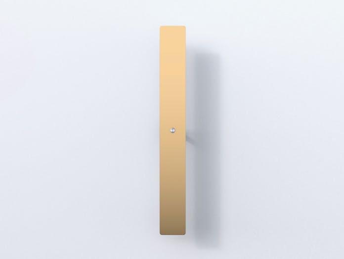 Anour Divar Model Wall Light Pol Brass