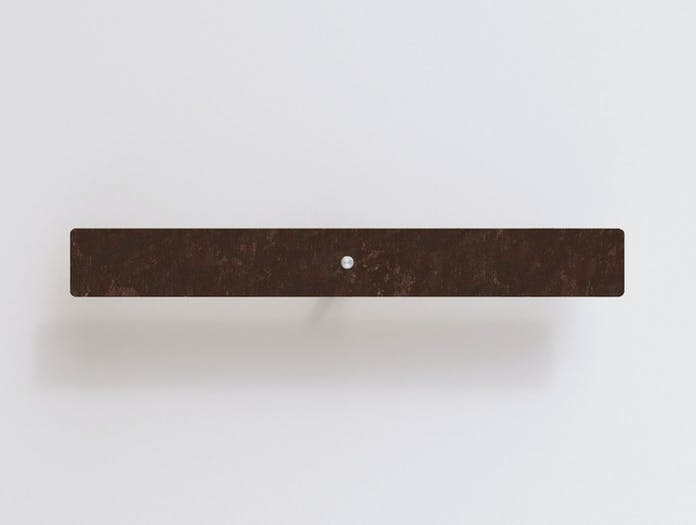 Anour Divar Model Wall Light Rusted Steel