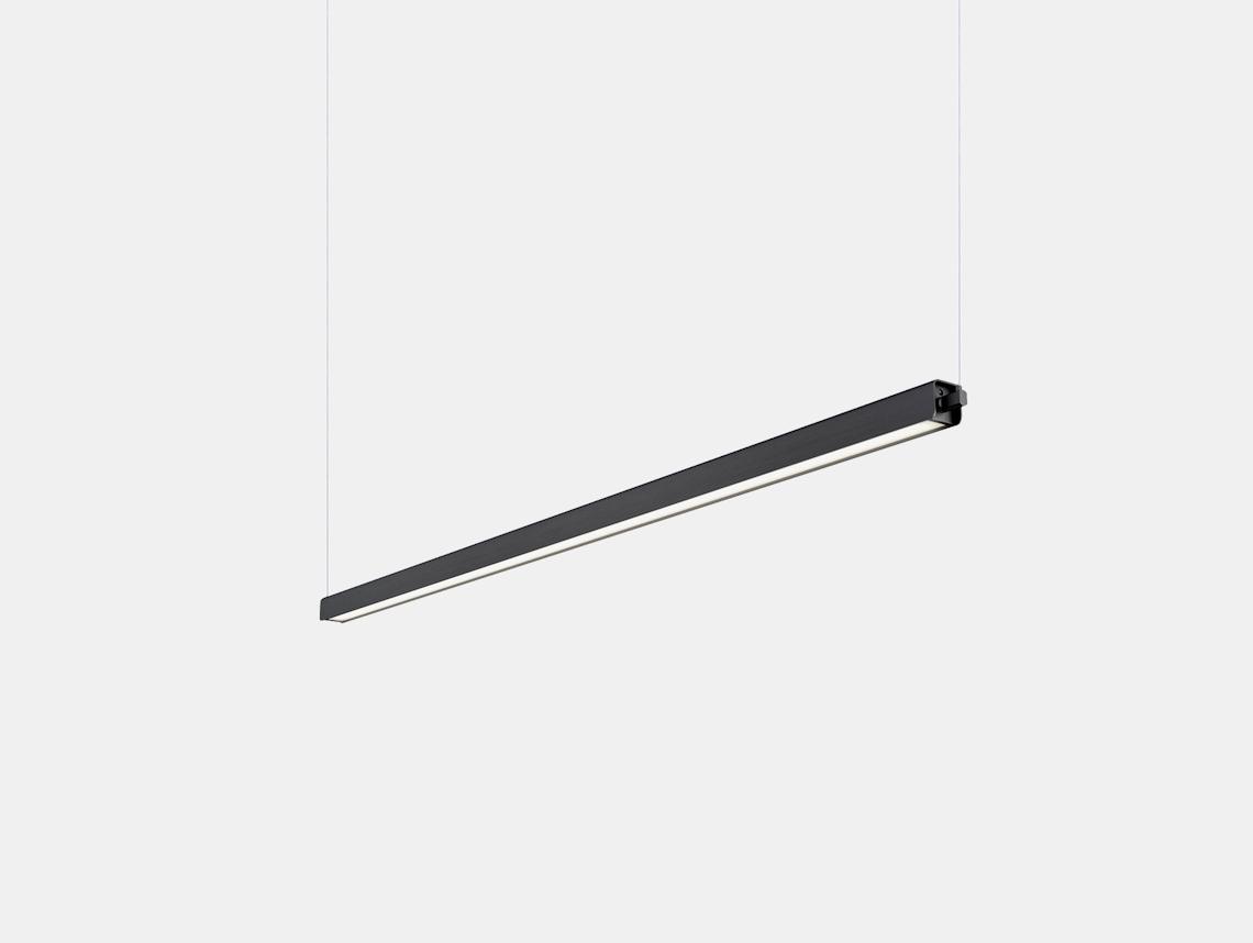 Anour G Model Pendant Light Black Aluminium L100 Arash Nourinejad