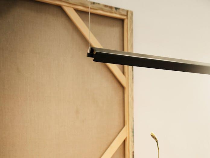 Anour G Model Pendant Light End Detail Tilted Arash Nourinejad