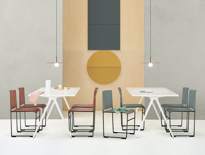 Arper Stacy Chairs Lievore Altherr