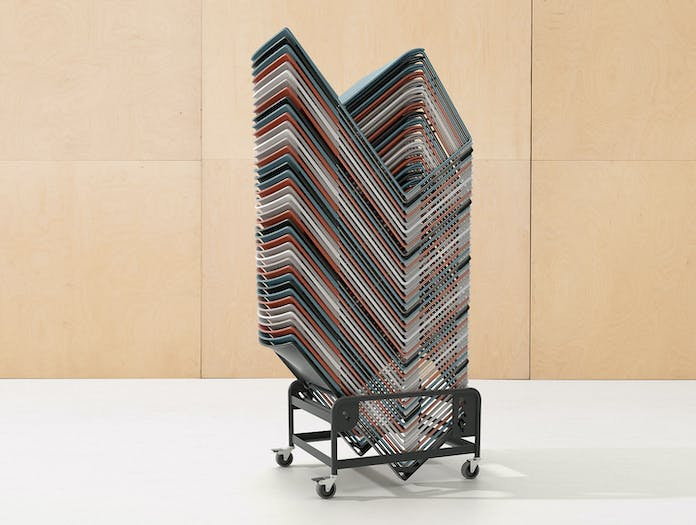 Arper Stacy Chairs Stack Lievore Altherr