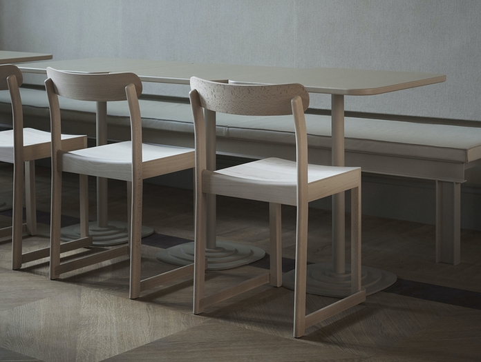 Artek Atelier Chair Beech Back Taf Architects