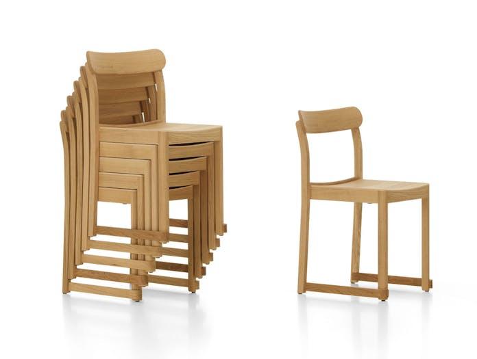 Artek Atelier Chair Oak Stack Taf Architects