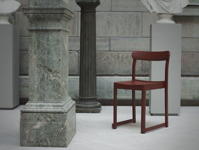 Artek Atelier Chair Red 2 Taf Architects