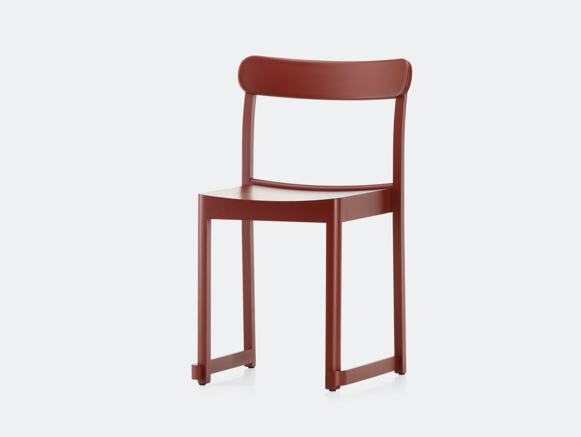 Artek Atelier Chair Red Taf Architects