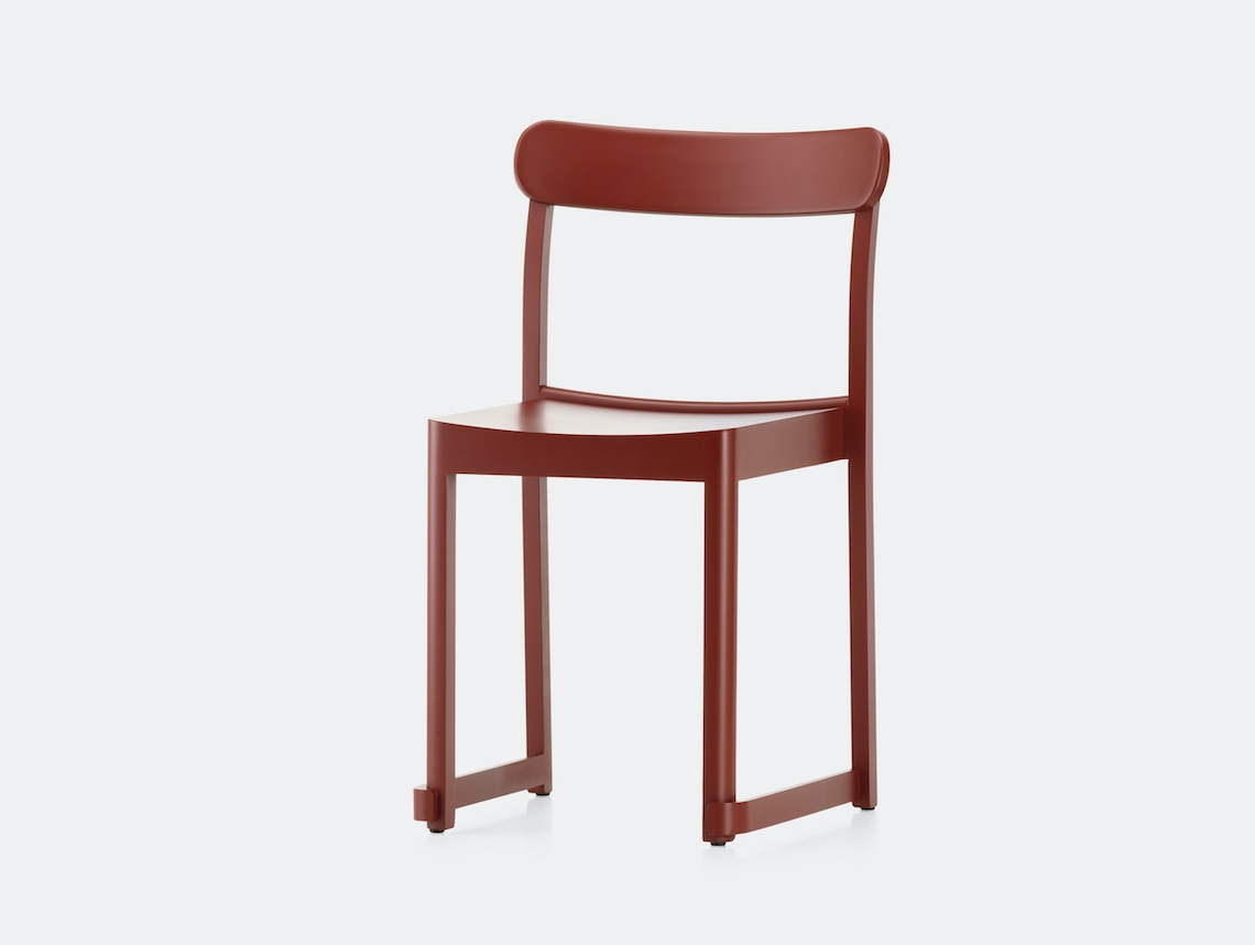 Artek Atelier Chair Red Taf Architects