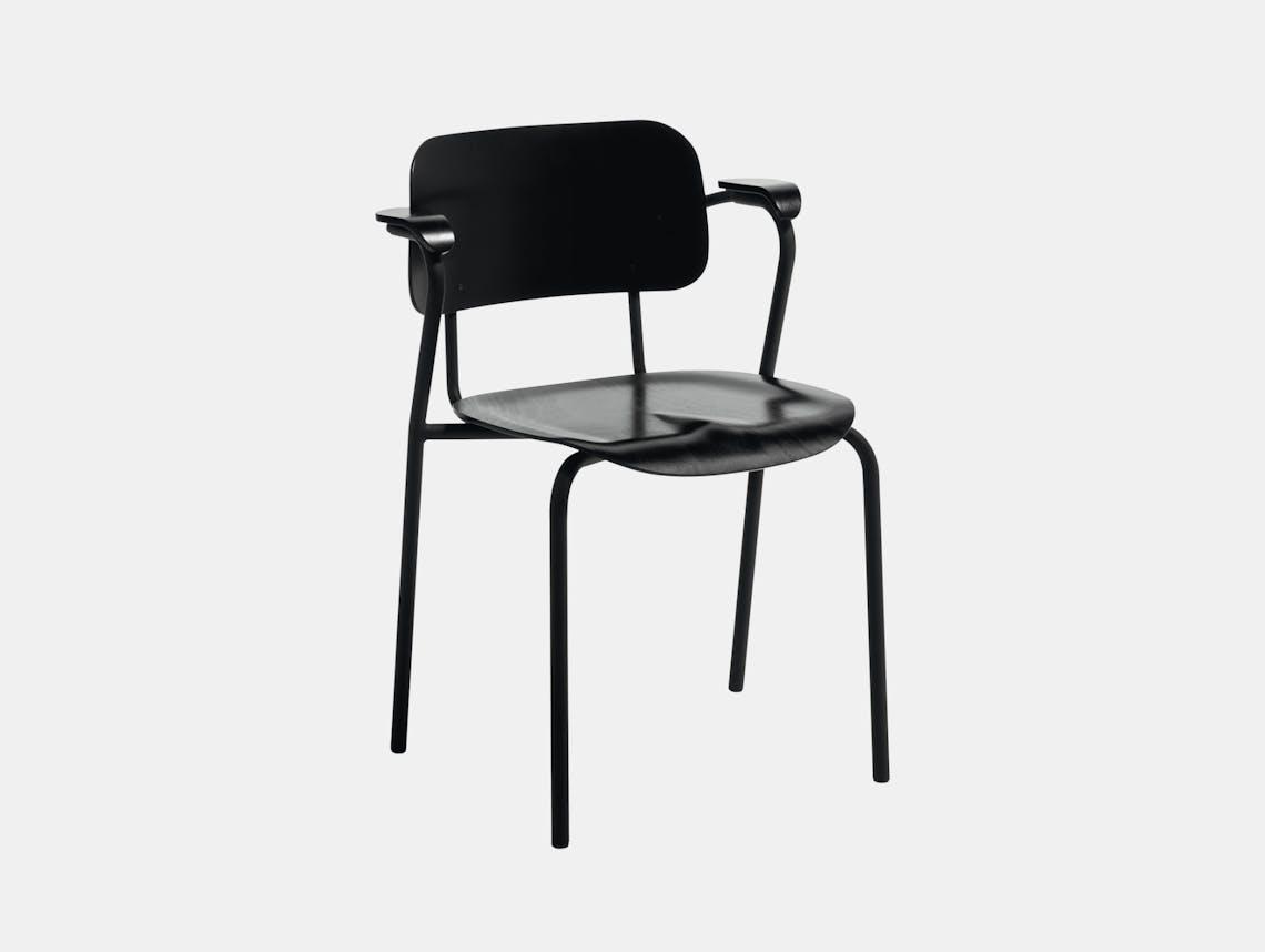 Artek Lukki Chair Black Ilmari Tapiovaara