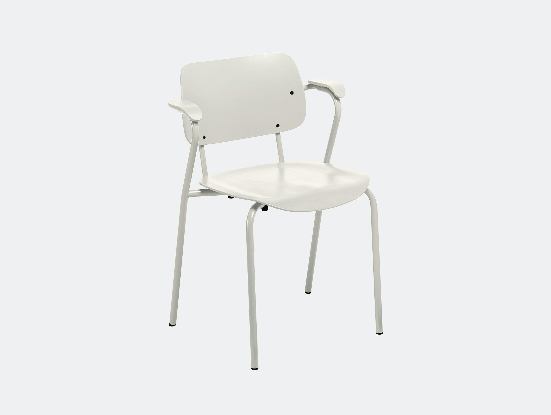 Artek Lukki Chair Stone White Ilmari Tapiovaara