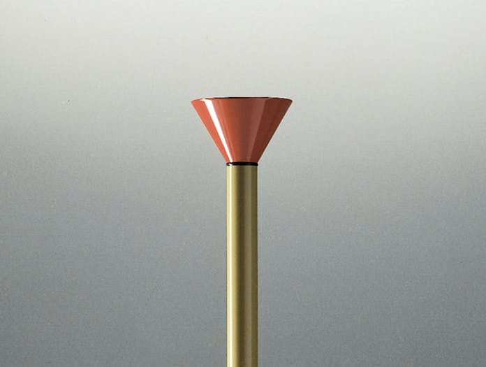 Artemide Callimaco Floor Lamp Diffuser Ettore Sottsass
