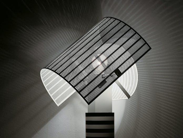Artemide Shogun Table Lamp Detail Mario Botta
