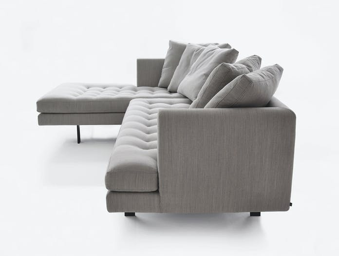Bensen Edward Sectional Sofa L 265 Left Chaise End