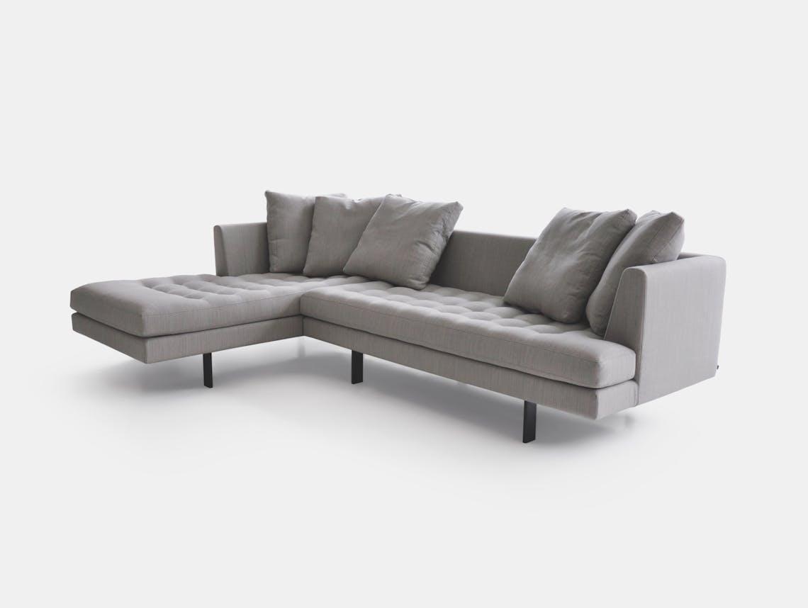 Bensen Edward Sectional Sofa L 265 Left Chaise