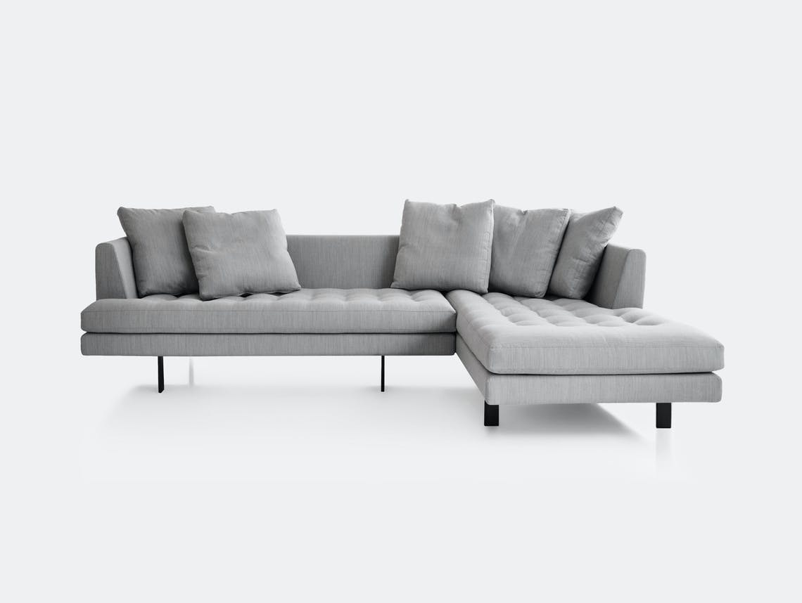 Bensen Edward Sectional Sofa L 265 Right Chaise