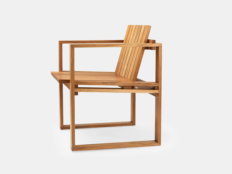 Carl Hansen Bk10 Dining Chair Teak Bodil Kjaer