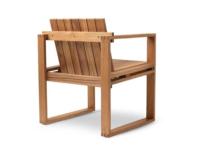 Carl Hansen Bk10 Dining Chair Teak Back Bodil Kjaer