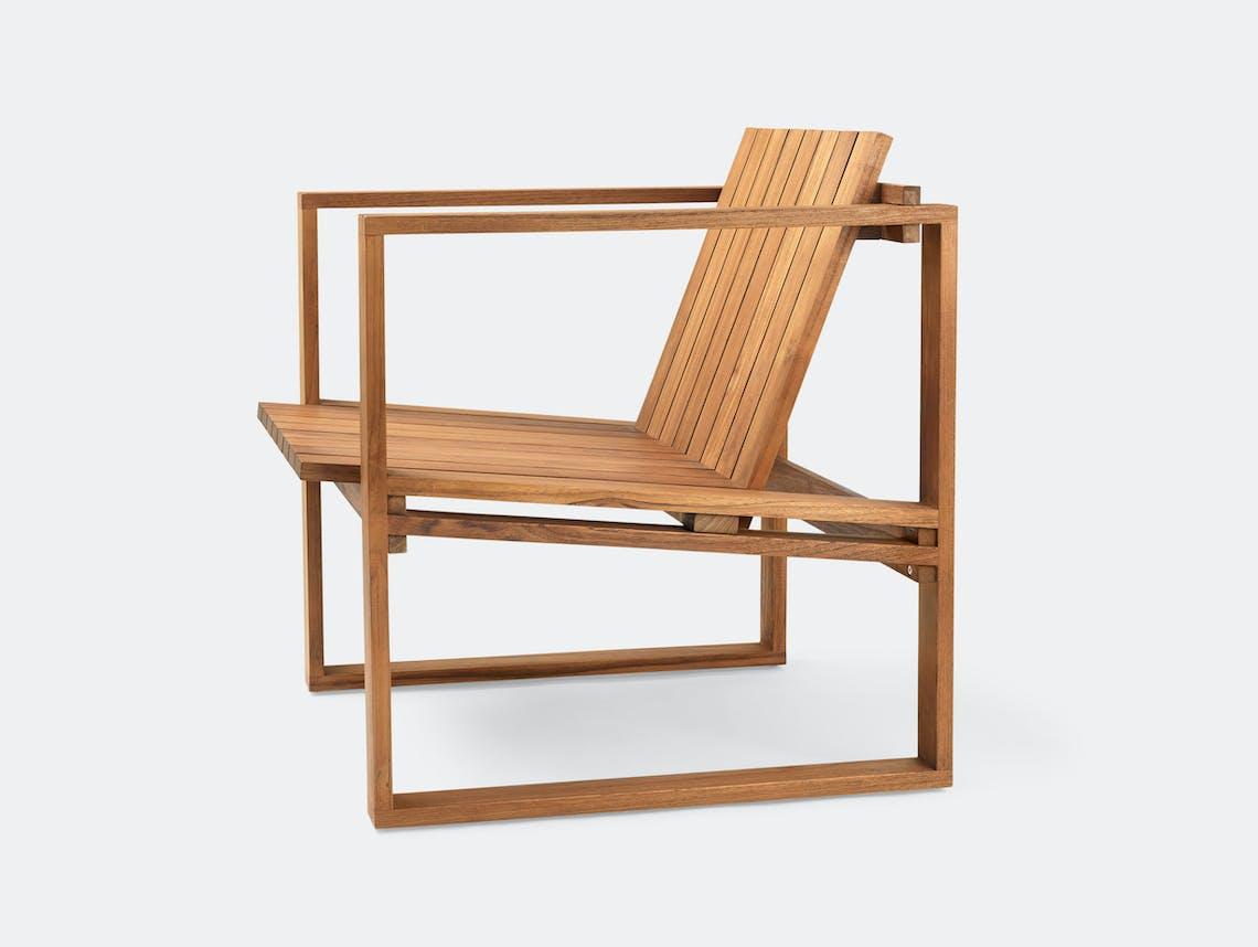 Carl Hansen Bk11 Lounge Chair Teak Bodil Kjaer