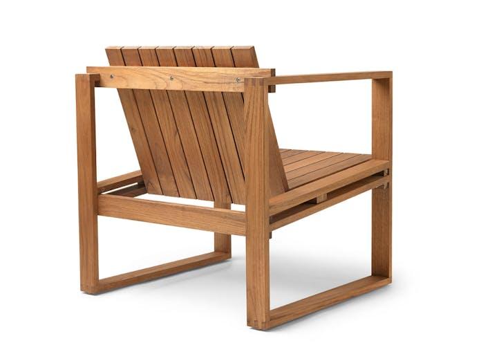 Carl Hansen Bk11 Lounge Chair Teak Back Bodil Kjaer