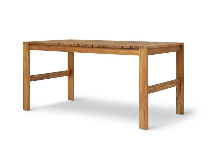 Carl Hansen Bk15 Dining Table Teak 2 Bodil Kjaer