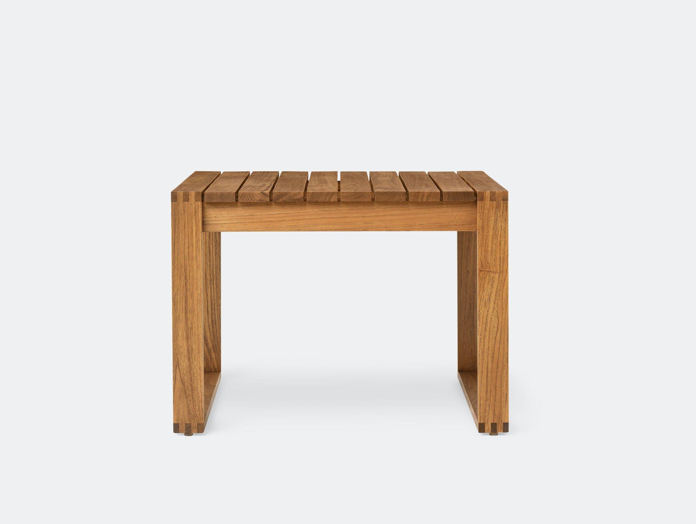 Carl Hansen Bk16 Side Table Teak Bodil Kjaer