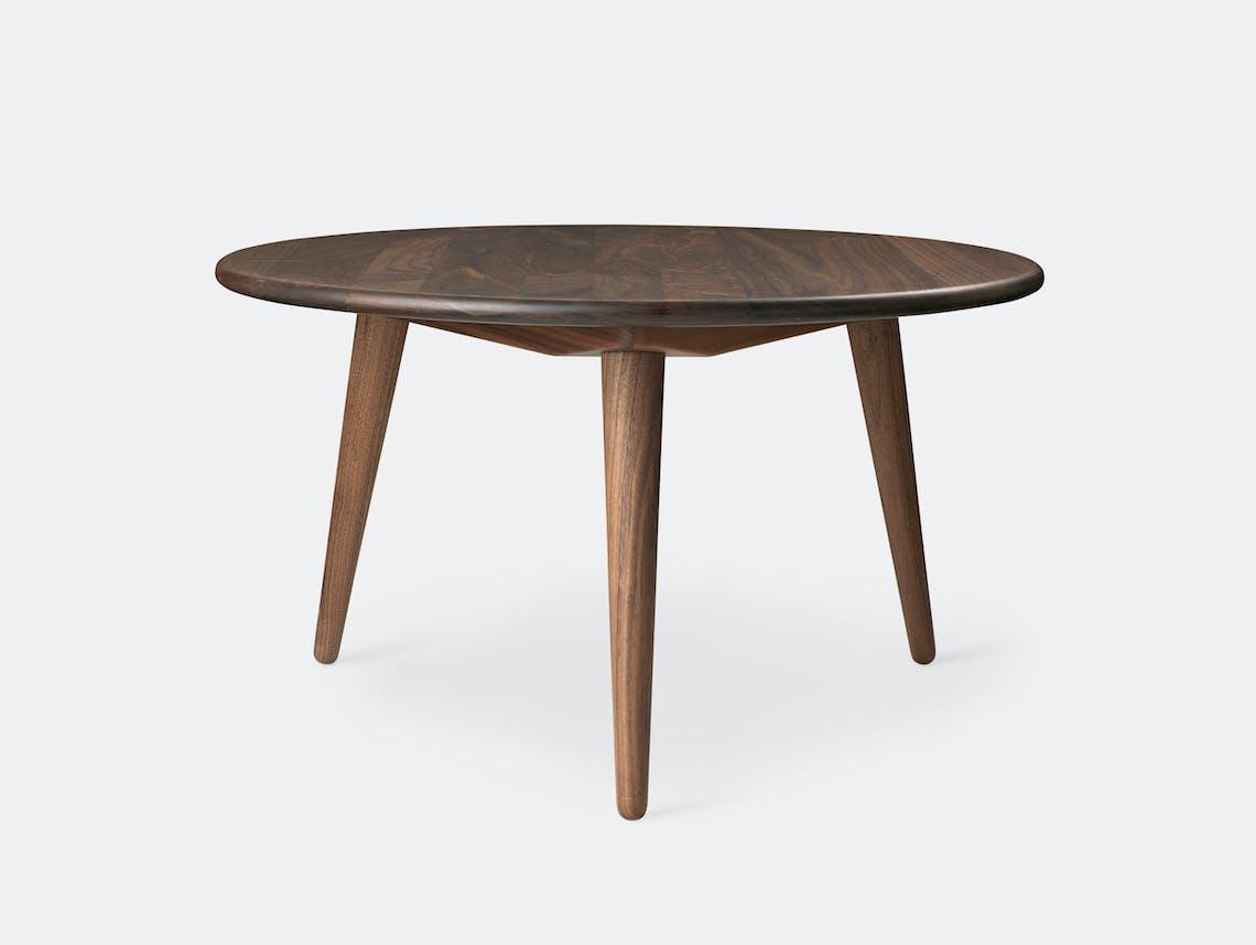 Carl Hansen Ch008 Coffee Table Oiled Walnut Hans Wegner