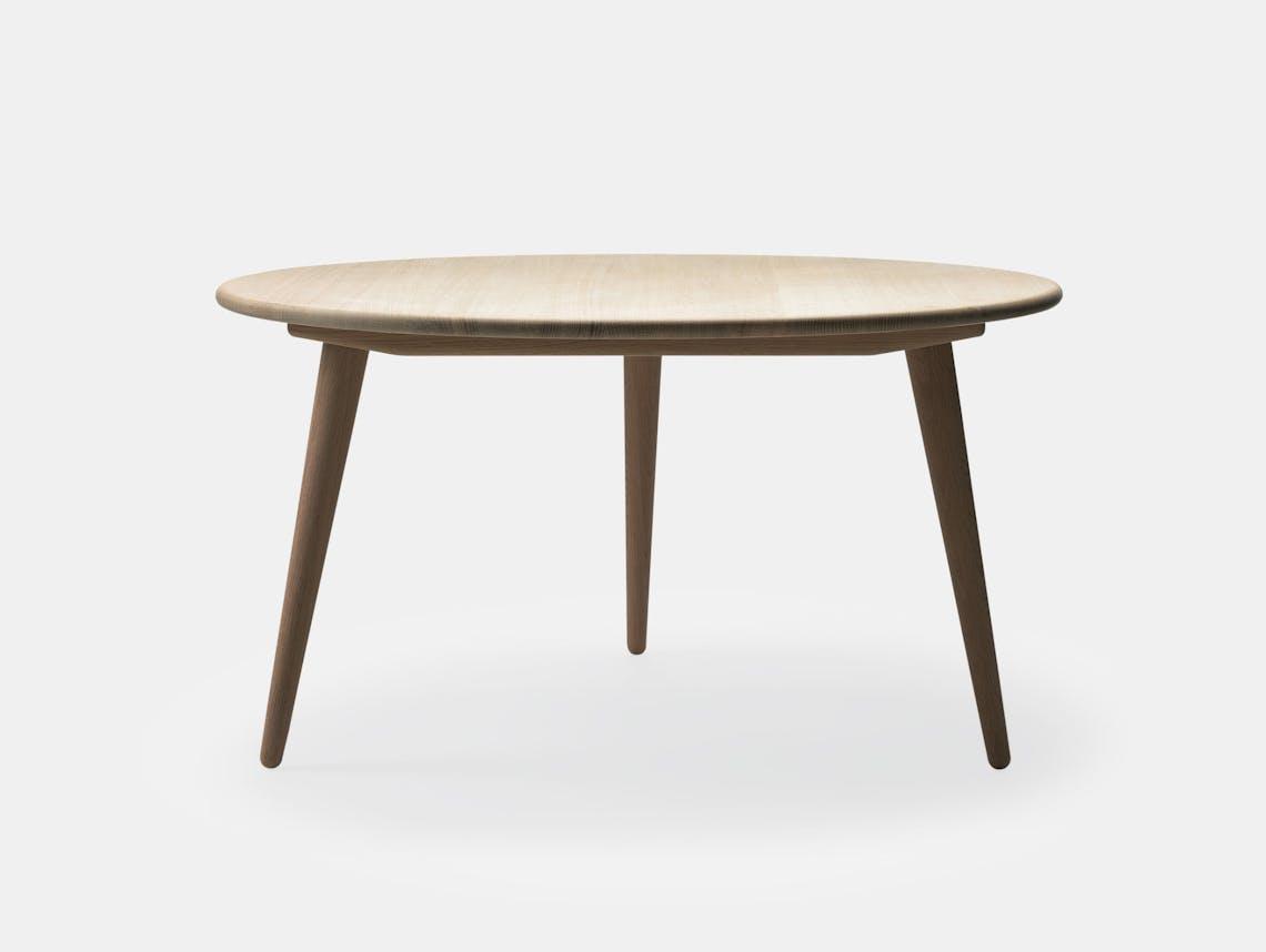Carl Hansen Ch008 Coffee Table Soaped Oak Hans Wegner