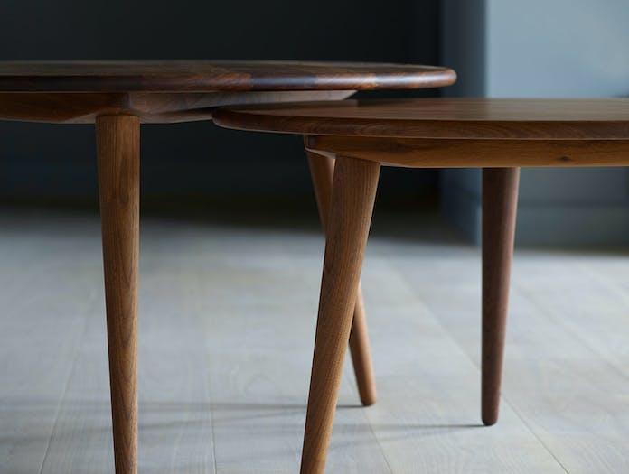 Carl Hansen Ch008 Coffee Tables Walnut
