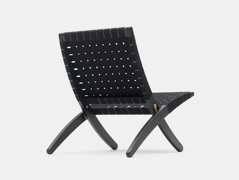 Carl Hansen Mg501 Cuba Chair Black Black Morten Gottler
