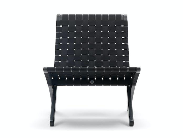 Carl Hansen Mg501 Cuba Chair Black Black Front Morten Gottler
