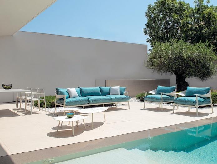 Emu Terramare Chairs Sofa 3 Seater Studio Chiaramonte Marin