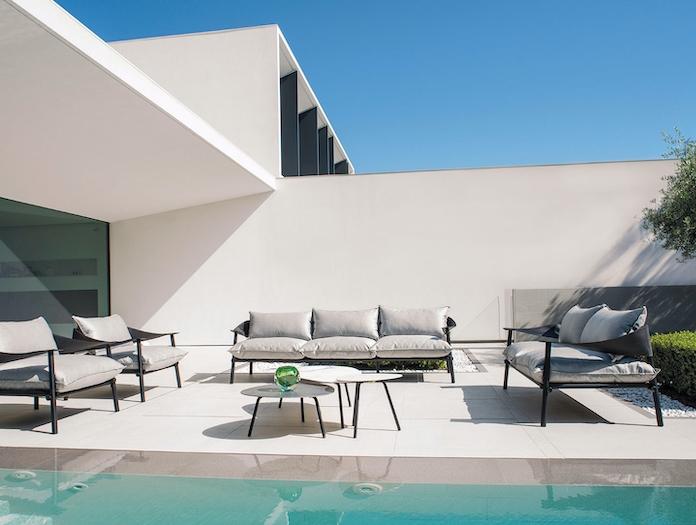 Emu Terramare Lounge Chairs Sofa 3 Seater Studio Chiaramonte Marin