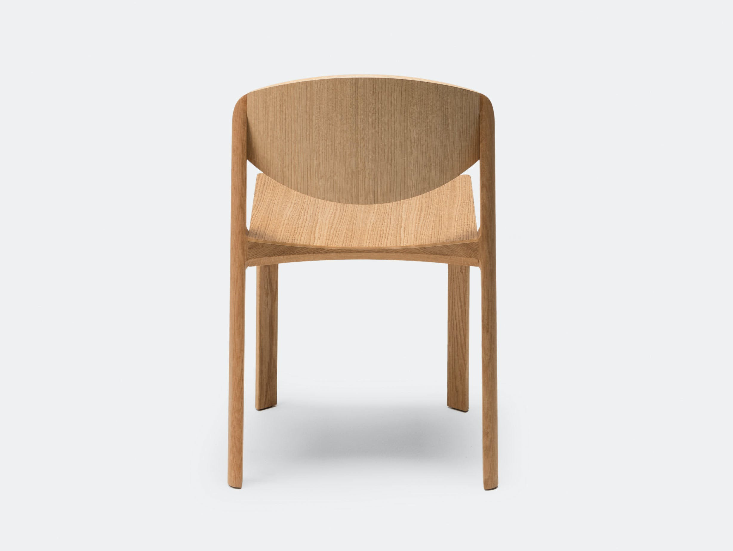 Established And Sons Mauro Chair Oak Mauro Pasquinelli