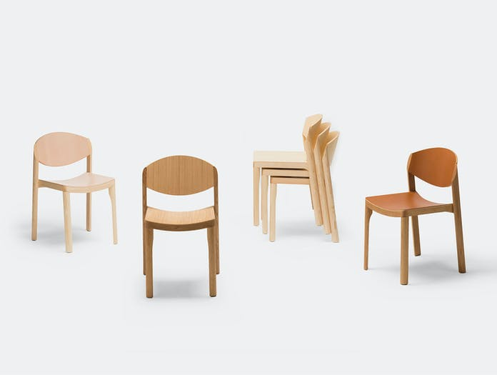 Established And Sons Mauro Chairs Gry Mauro Pasquinelli