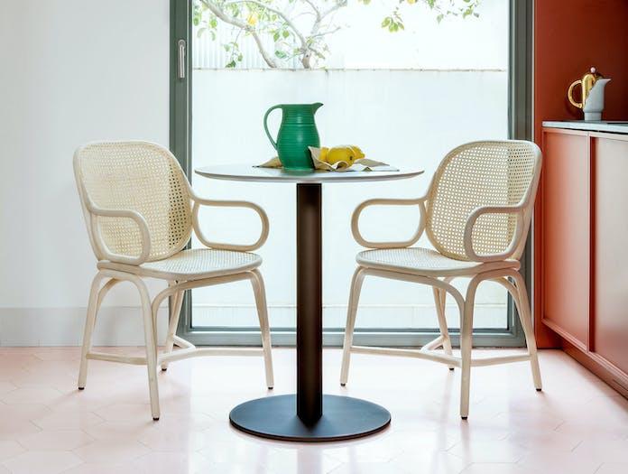 Expormim Frames Dining Armchair Natural Rattan Jaime Hayon