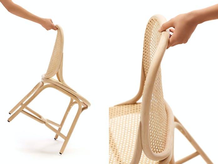 Expormim Frames Side Chair Detail Rattan Jaime Hayon