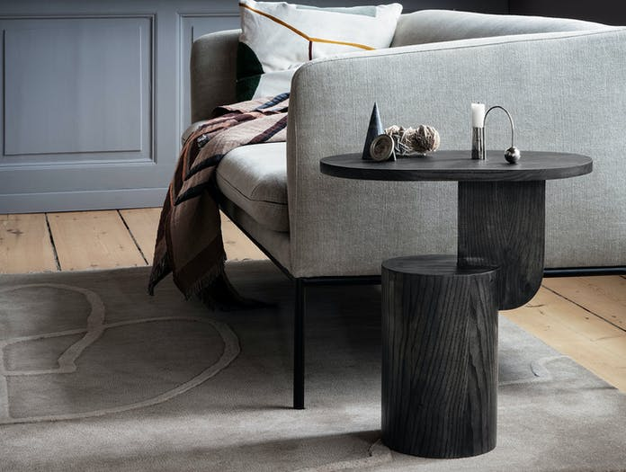 Ferm Living Insert Side Table Black Mario Tsai