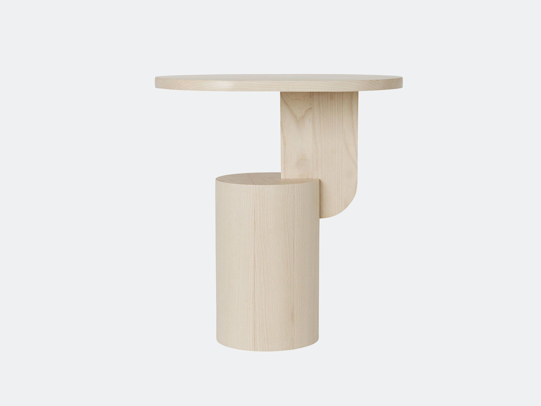 Ferm Living Insert Side Table Natural Ash Mario Tsai